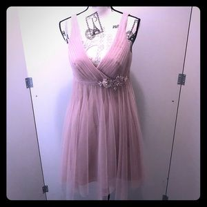 ♨️Alfred Angelo♨️ Size 6,Prom Dress blush colour.
